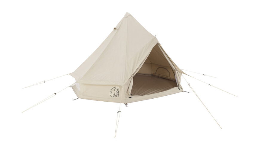 Nordisk Asgard 7.1 m² tent Technical Cotton beige